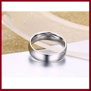 Other - Silver Stainless Steel Wedding Band